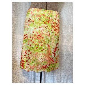 Rafael Scallop Hem Skirt